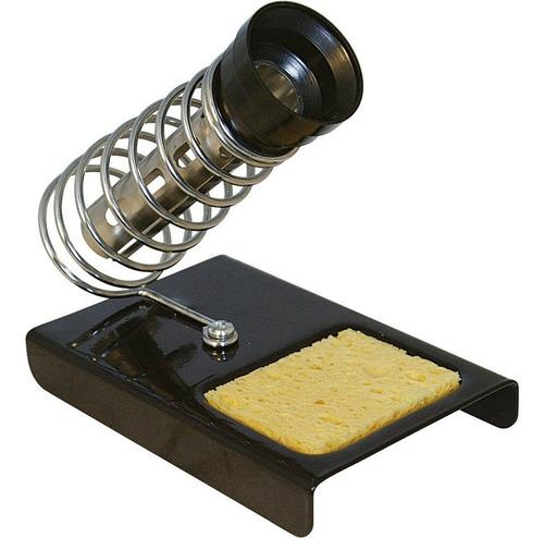 soporte soldador electronica c esponja vegetal 20-100 watts.