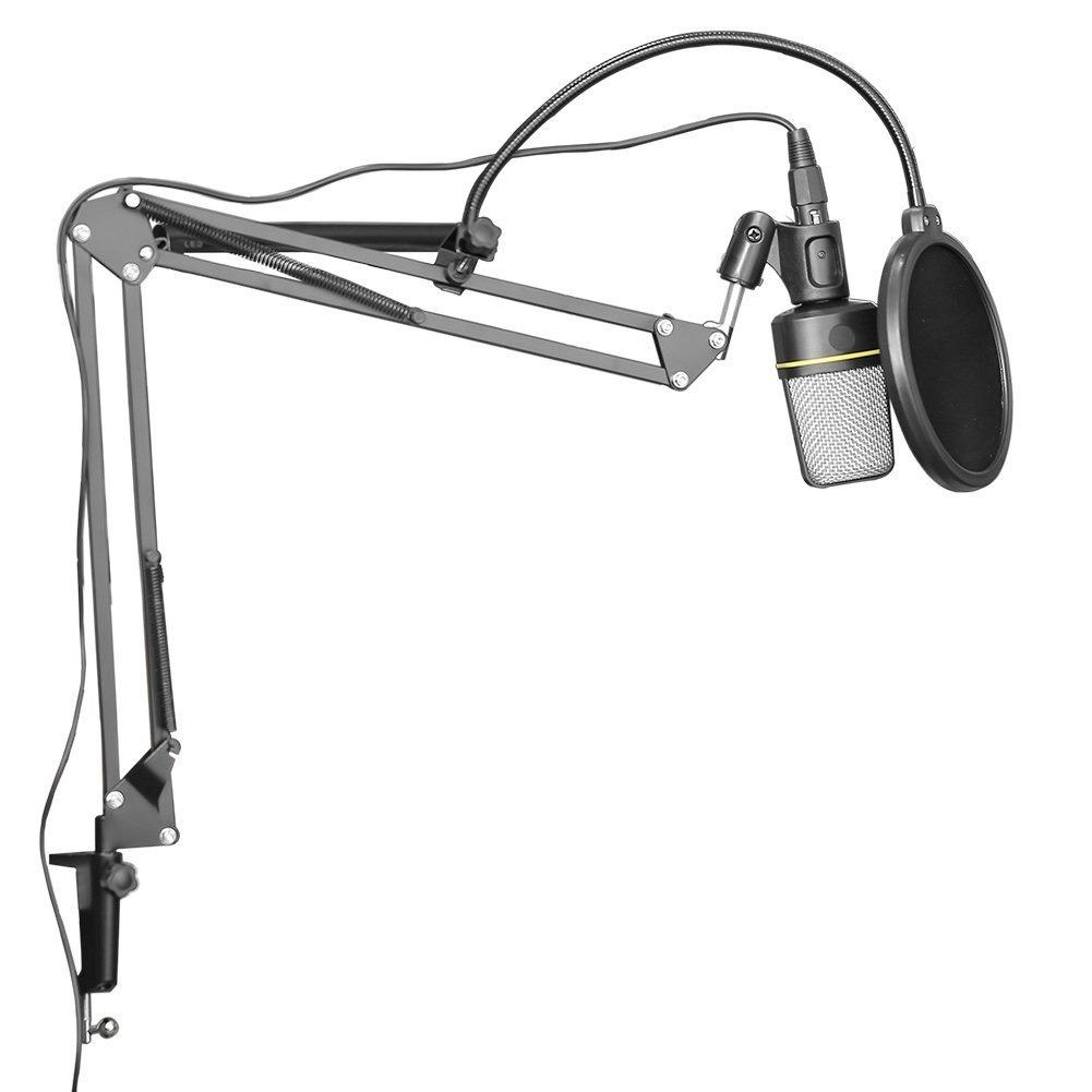 Soporte Stand Articulado Para Microfono De Estudio Podcast