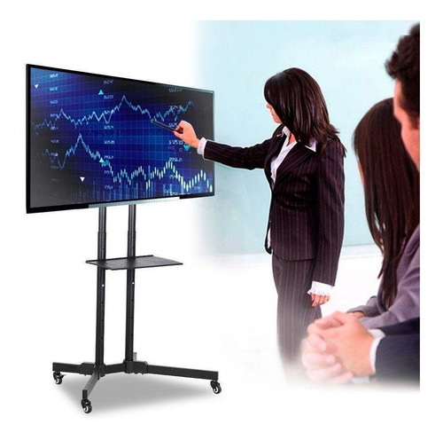 soporte stand de tv móvil 32-70  carro movil  ml1714