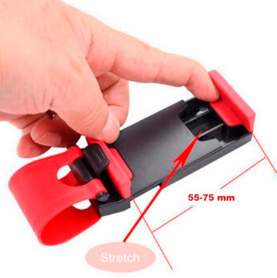 soporte sujetador holder de timon para autos iphone lg s3 s4