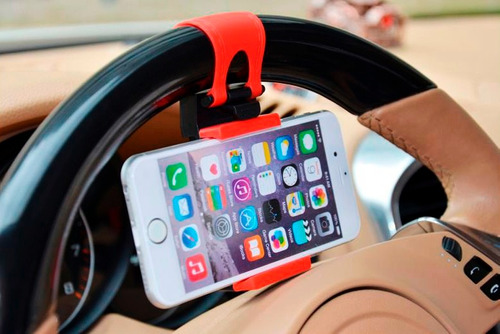 soporte sujetador holder de timon para autos iphone lg s3 s4