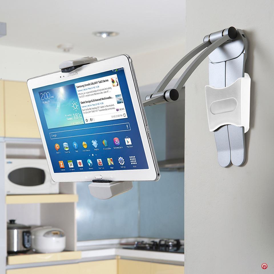 Tsckms soporte aluminio articulado tablet ipad escritorio 1 en mercado libre - Soporte para tablet ...