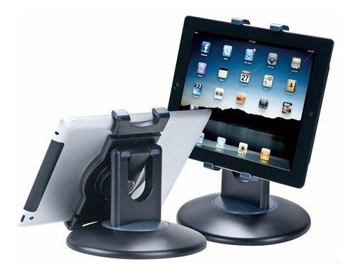 soporte tablet ipad universal aidata regulable 360 grados
