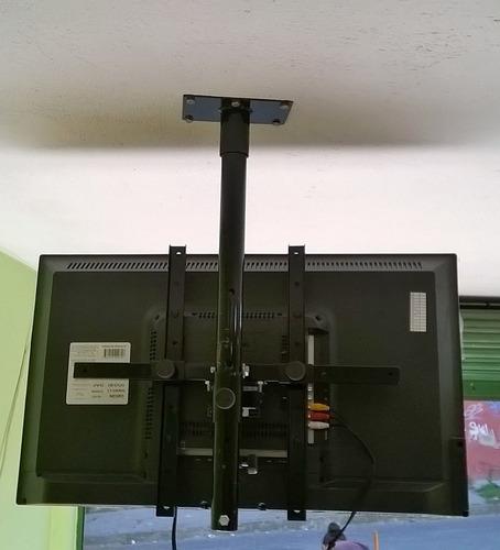 soporte techo giratorio tv lcd led curved de 22 a 55 pulgada