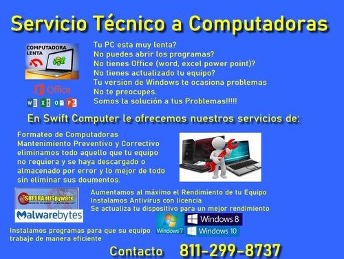soporte técnico a computadoras