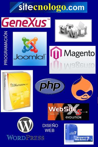 soporte técnico a domicilio, diseño web, desarrollo software