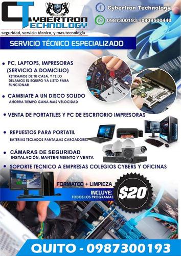 soporte técnico computadoras, cámaras de vigilancia, hosting