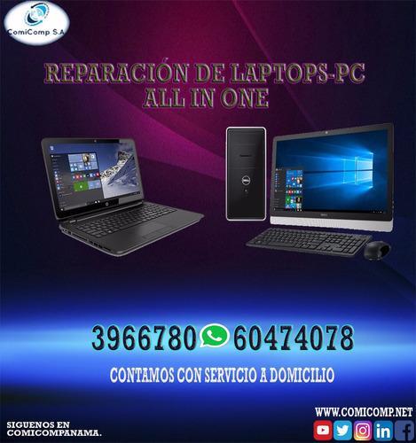 soporte tecnico/ computadoras laptops a domicilio