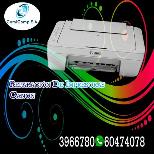 soporte técnico de impresoras canon