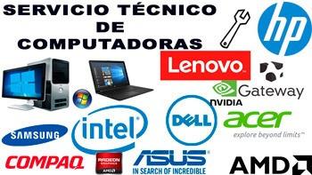 soporte tecnico de pc via remota o presencial