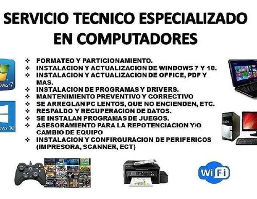 soporte tecnico e instlacion