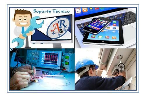 soporte técnico informático (presencial o remoto)