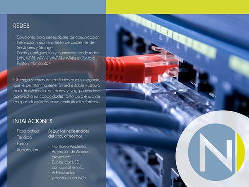 soporte técnico it computación servidores y redes 5 pc