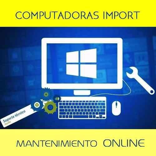 soporte técnico para pc laptop de forma remota