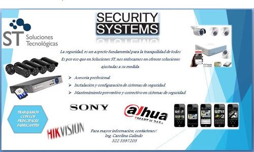 soporte técnico pc - cámaras - programas - servicios