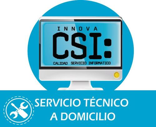 soporte técnico pc laptop a domicilio - lima y iquitos