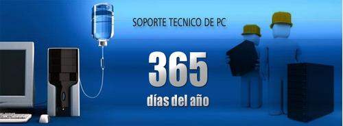 soporte técnico pc, laptops. programas,antivirus, juegos.etc