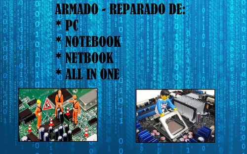 soporte tecnico pc - notebook - netbook - all in one