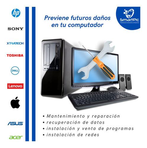soporte técnico profesional de computadoras y laptops