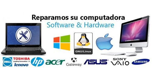 soporte técnico, recuperación de datos, redes y armado de pc
