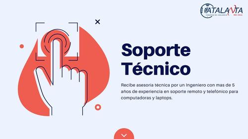 soporte técnico remoto y/o telefónico - 30 min pc laptop