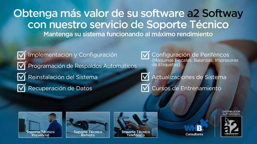 soporte técnico sistemas a2 softway