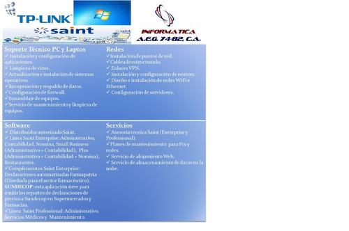 soporte tecnico sistemas saint administrativo contabilidad