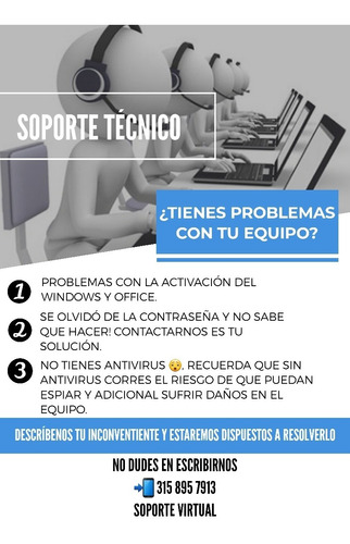 soporte técnico ( virtual )