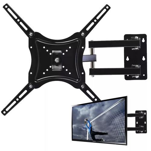 soporte televisor tv con brazo 14-55 pulgadas hasta 50 kilos
