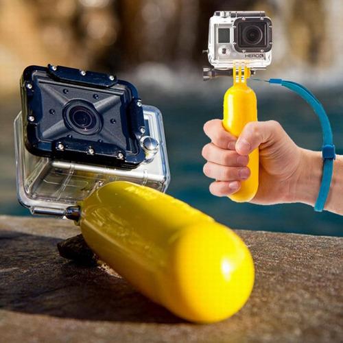soporte the bobber gopole flotador de puño gopro go pro new