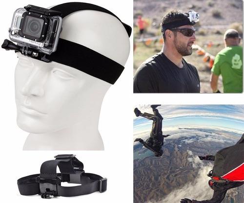 soporte tipo arnes de cabeza para cámara gopro hero 2 3 3+ 4