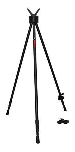 soporte tripie para rifle gamo tiro aluminio 86 x 185 cms