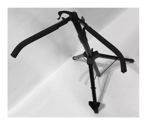 soporte tripode de pie contrabajo parquer acero