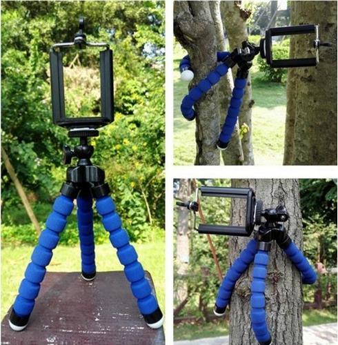 soporte trípode flexible portátil celular smartphone cámara