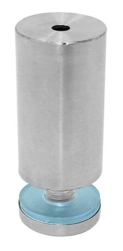 soporte tubular para vidrio 25 x 50 mm acero inoxidable