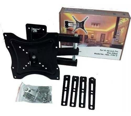 soporte tv brazo articulado 14 a 55 led lcd plasma 4k 59125