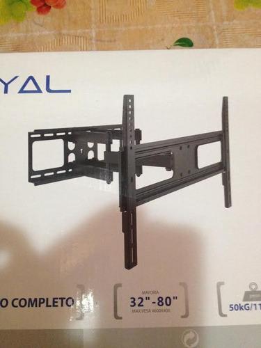 soporte tv, de 32 hasta 80 pulgadas, para tv de peso pesado
