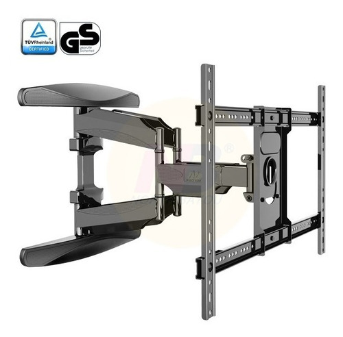 soporte tv extensible doble nb north bayou l600 de 40  a 75