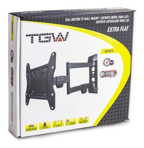 soporte tv lcd/led tagwood movil hasta 43   el mas vendido