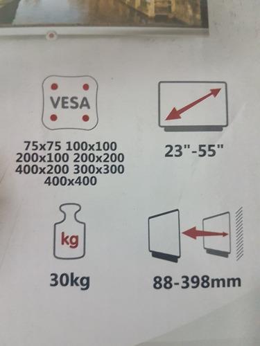 soporte tv led brazo de 23 a 54 pulgadas vesa