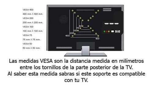 soporte tv led de 32 40 42 y 50 artekit spl186 esdj