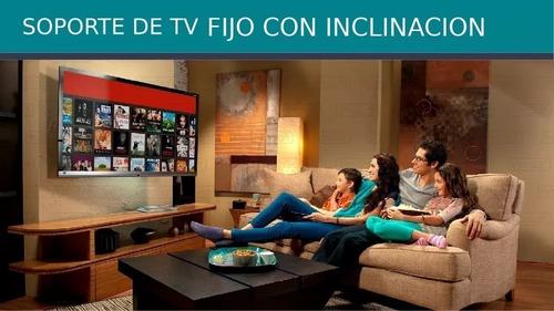 soporte tv led lcd fijo con inclinacion 19 42 full