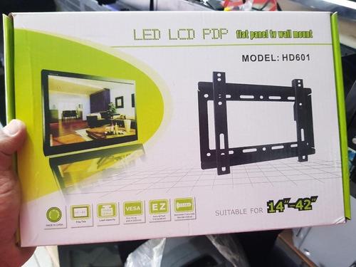 soporte tv led lcd fijo extra chato 14 19 22 24 32 39 40 42
