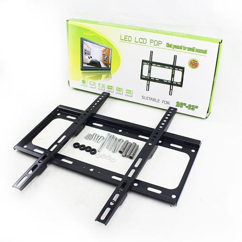 soporte tv led lcd fijo extra chato 26 32 40 42 46 52 55 63