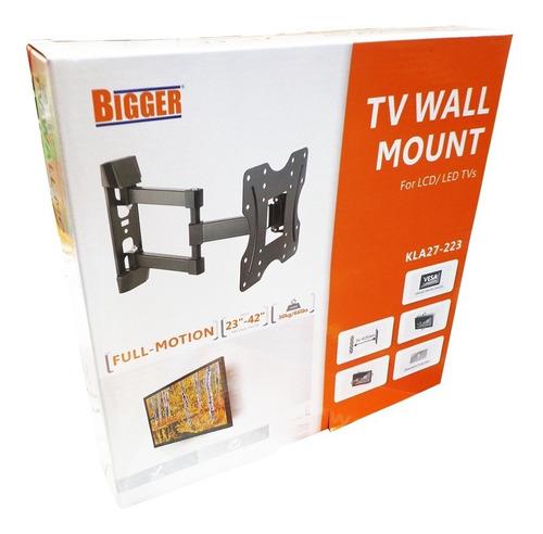 soporte tv led movil articulado 23 25 30 32 39 40 42 pulg