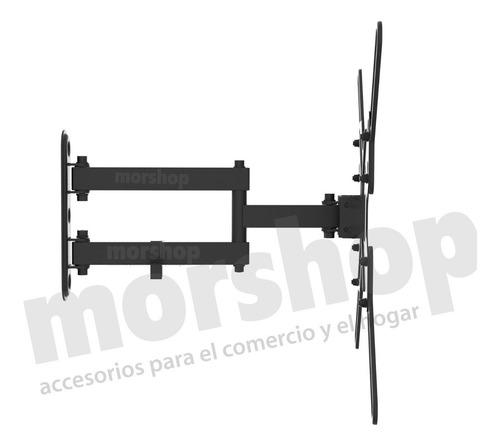 soporte tv led smart brazo movil articulado 60 55 50 43 32