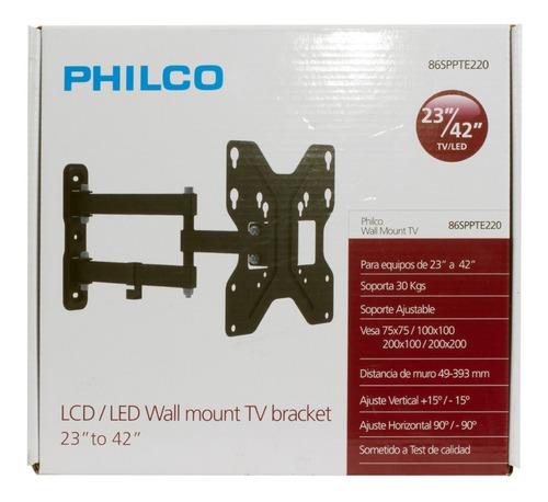soporte tv led/lcd | philco