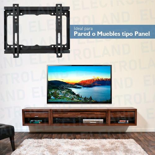 soporte tv monitor led soporte 14 42 pulgadas fijo pared