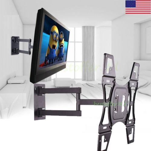 soporte tv pared articulado brazo de bajo perfil fr 26-50