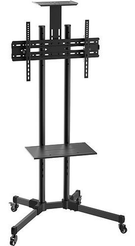 soporte tv pie piso led 47 55 60 stf6041 vesa 60x40 ruedas